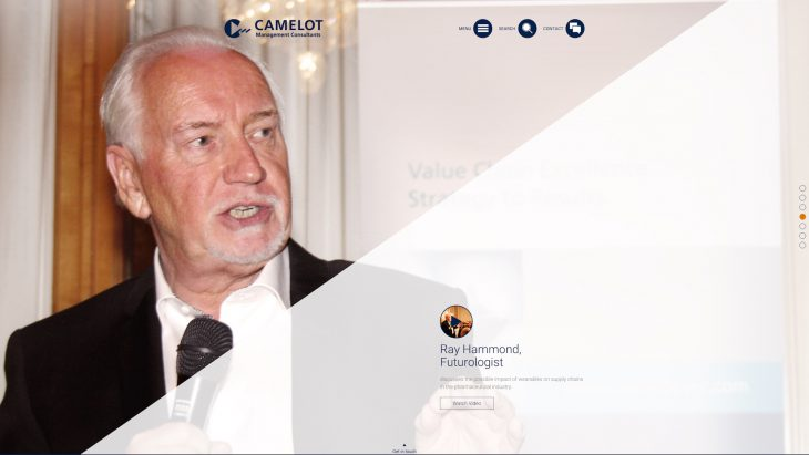Camelot MC - Responsive Website - Fullscreen Slides