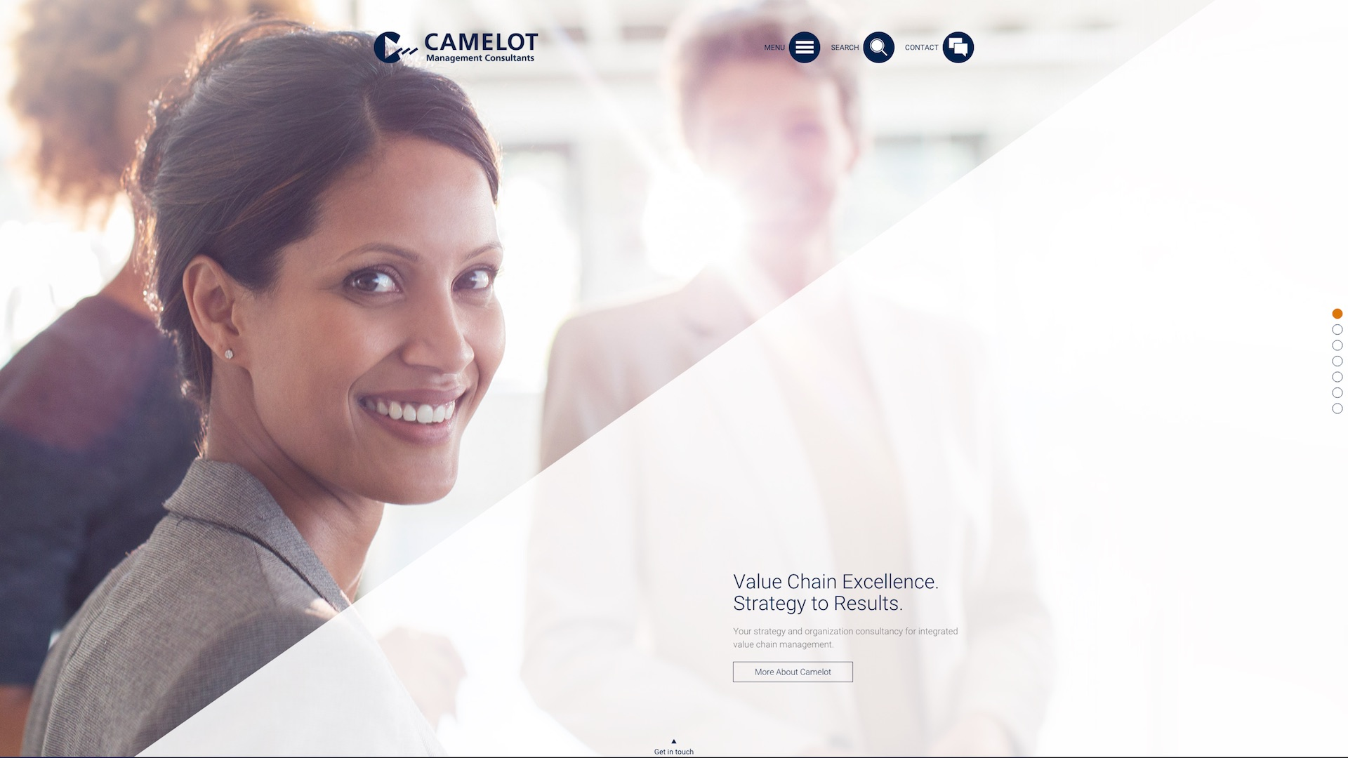 Camelot MC - Responsive Website