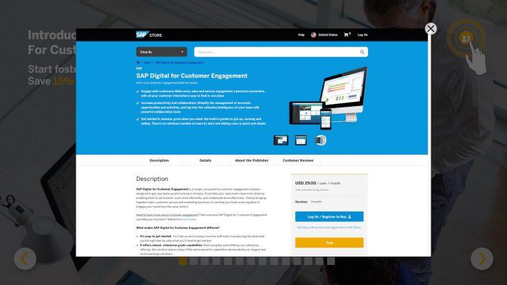 triggercode Kiosk-App - abgesicherter In-App-Browser